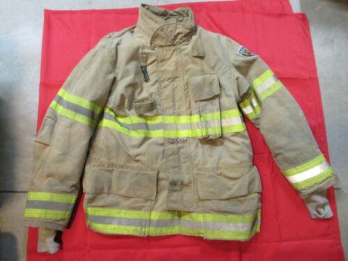 MFG. 2010 FIRE-DEX 40 x 32 Turnout Gear Firefighter Bunker Jacket RESCUE FIRE
