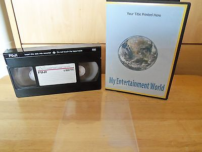 VHS VIDEO TO DVD TRANSFER SERVICE - ENJOY THOSE PRECIOUS MEMORIES AGAIN ON DVD