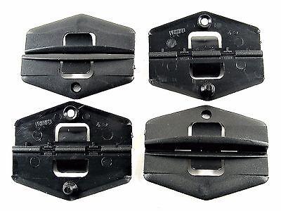 GM Window Glass Guide Clips- S10 S15 Blazer Sonoma Jimmy- 1982-1994- Qty.4- #012