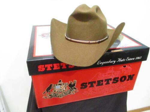 vintage mink Stetson American Buffalo brown western hat 7 1/4 w/box