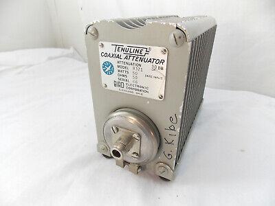 Bird 43 8321 Thruline 50W Attenuator Termaline Dummy Load Resistor 30dB