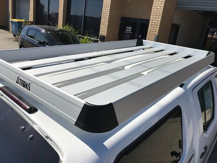 Aluminium Alloy Heavy Duty Roof Tray Basket Rack 2.4m