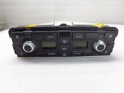 2004-2006-2007-2008-2009-2010 AUDI A8 AC HEATER CLIMATE CONTROL SWITCH OEM #52B