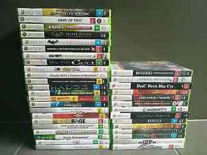 Xbox 360 Console Games (New And Used) South Morang Whittlesea Area Preview