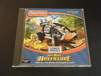 Fisher-Price: Power Wheels Off-Road Adventure (PC & MAC, 2000)