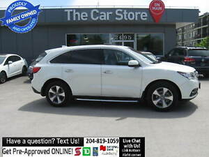 2015 Acura MDX 3 rows!LEATHER HTD SEAT sunroof BACKCAM push star