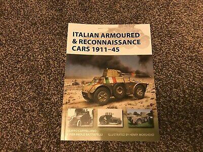 Osprey New Vanguard - Italian Armoured & Reconnaissance Cars 1911-45