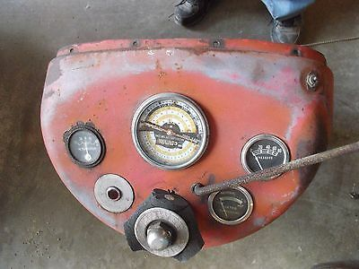 Massey Ferguson 65 Tractor Dash Panel Tachometer Gauges Steering Gear Joint