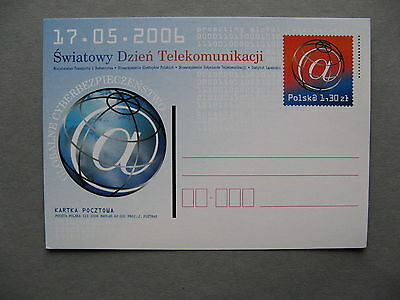 Poland  Ill  Prestamped Pc Telecom Promotion Global Cyber Security   Binair Code