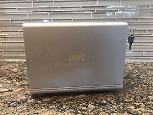 4 bay hard drive enclosure OWC Mercury Elite Qx2 USB 3.0 / eSATA