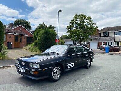 Audi UR Quattro turbo 1983 very early RHD