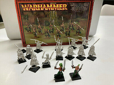 WARHAMMER 92-13 Warhammer Fantasy Wood Elf Elves Eternal Guard segunda mano  Embacar hacia Argentina