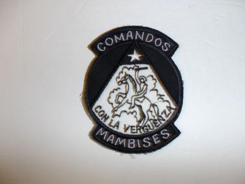a0498 Cuba Comandos Mambises 2506 Brigade Cuban Exiles Bay of Pigs R17E