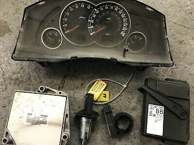 VAUXHALL MERIVA 1.6 16v Z16XEP COMPLETE ECU KIT FFFR 12249823 SEMI AUTO 2007 for sale  Shipping to South Africa