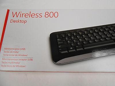 Microsoft Wireless 800 Desktop ( English and Spanish Layout ) (Microsoft Wireless Desktop 800)