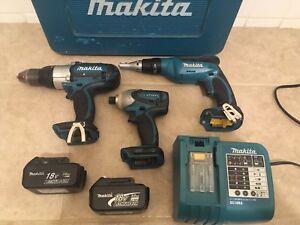 MAKITA 18v LXT Power Tools Combo