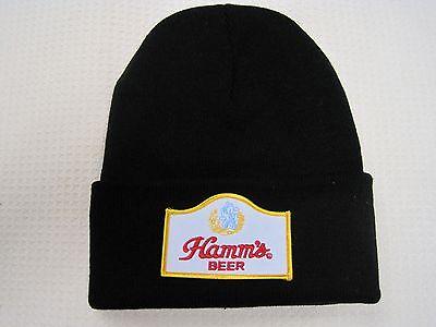 HAMM'S BEER BEANIE BEANNIE CAP GREAT GIFT ITEM!! LOOK & BUY IT NOW! HAMMS BEER
