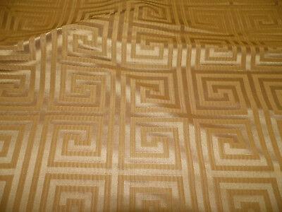 Fabric Robert Allen Beacon Hill Helene Key Warm Gold Silk Drapery HH37 Robert Allen Drapery Fabric
