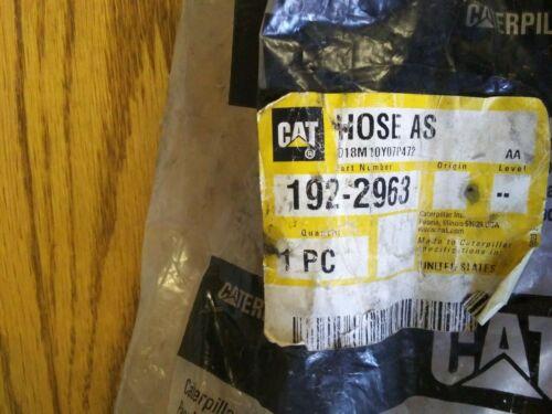 NEW GENUINE OEM CATERPILLAR CAT 192-2963 OIL SUPPLY HOSE HYDRAULIC PUMP NOZZLE