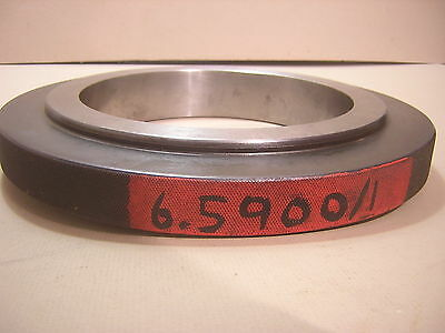 X Setting Ring Glastonbury Gage 6.5900 Bore Gage Or Id Micrometer Standard