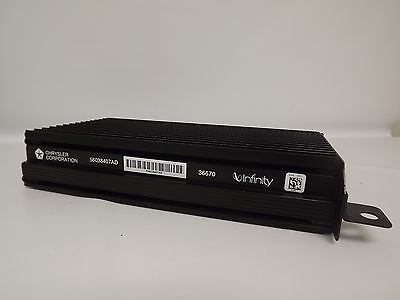 1999-2002 Jeep Grand Cherokee Infinity Amplifier Chrysler Amp - Part 56038407AD