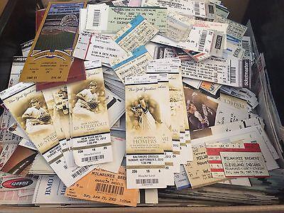 Vintage   Current Baseball Ticket Stub Lot Mlb Debut Playoffs Yankees Cardinals