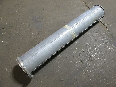 Kongskilde Ok Duct Work Blow Pipe Straight Used 6 Diameter 38 Length Used
