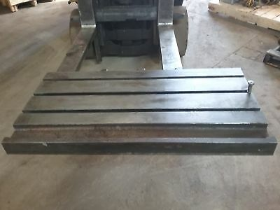 39 X 20 X 4 Steel Weld T-slot Table Cast Iron Layout 3 Slot Jig