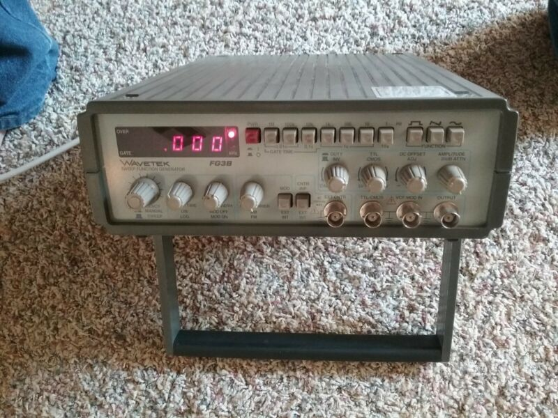 Wavetek FG3B sweep function generator working clean