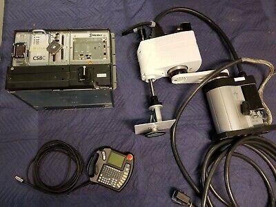Staubli Rs40 Sp1 Cs8c Scara Controller Pendant Cables Rs40b Jr Robot Pick Place