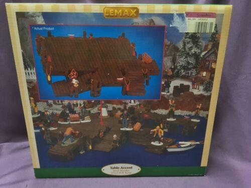 LEMAX 2001 HALLOWEEN OR CHRISTMAS VILLAGE ACCESSORIES – PIER/DOCK