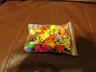 Pokemon Mini Figures Lot of 24pcs  (NEW)