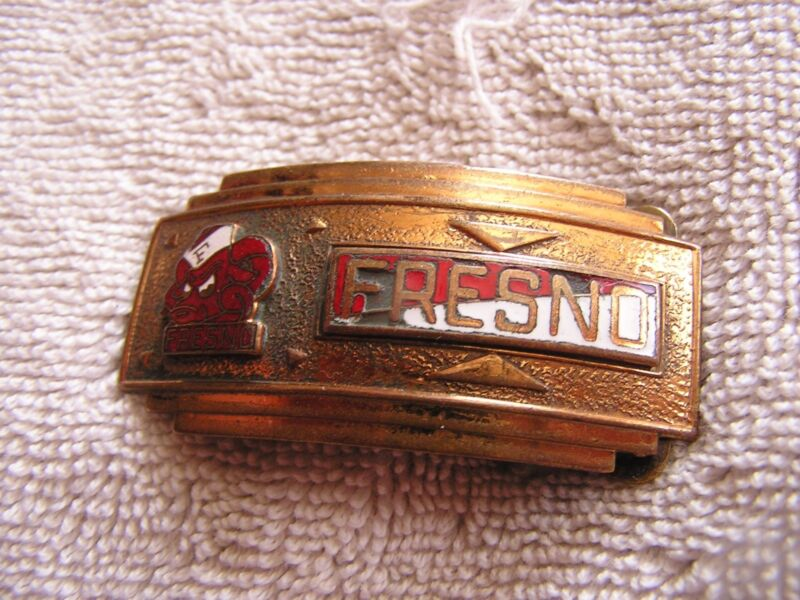 Vintage Fresno Belt Buckle The Kinney Co.