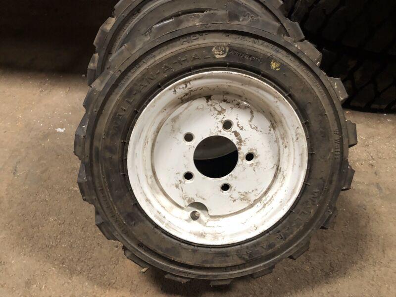 23x8.50-12 Watts Pneumatic Tire & Rim Forklift Tires NashLift