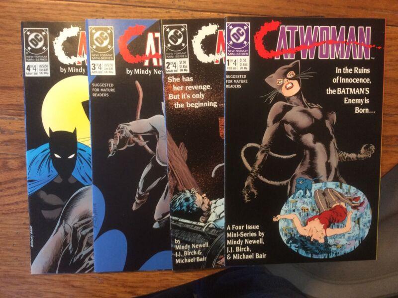 Catwoman 1-4 ( Feb.- May'89) Origin  DC