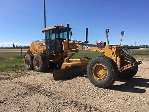 Grader for rent!  Has snow wing and front blade.