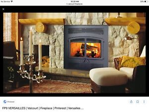 New Valcourt fireplace