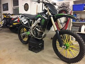 2009 Kawasaki KX250F Monster Edition