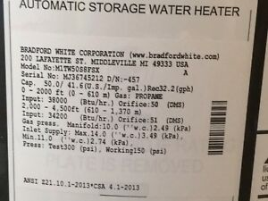 PROPANE WATER HEATER