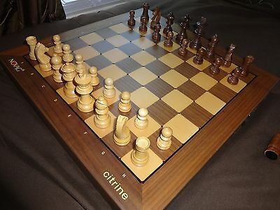 NOVAG CITRINE Electronic Chess Computer Works Great Nice