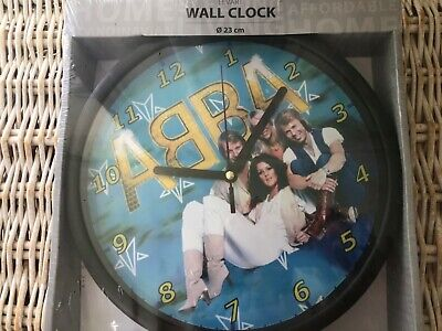 ABBA WALL CLOCK Boxed & Sealed Elvart Mint Original