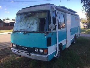Toyota Coaster Camper 1983 Welshpool Canning Area Preview