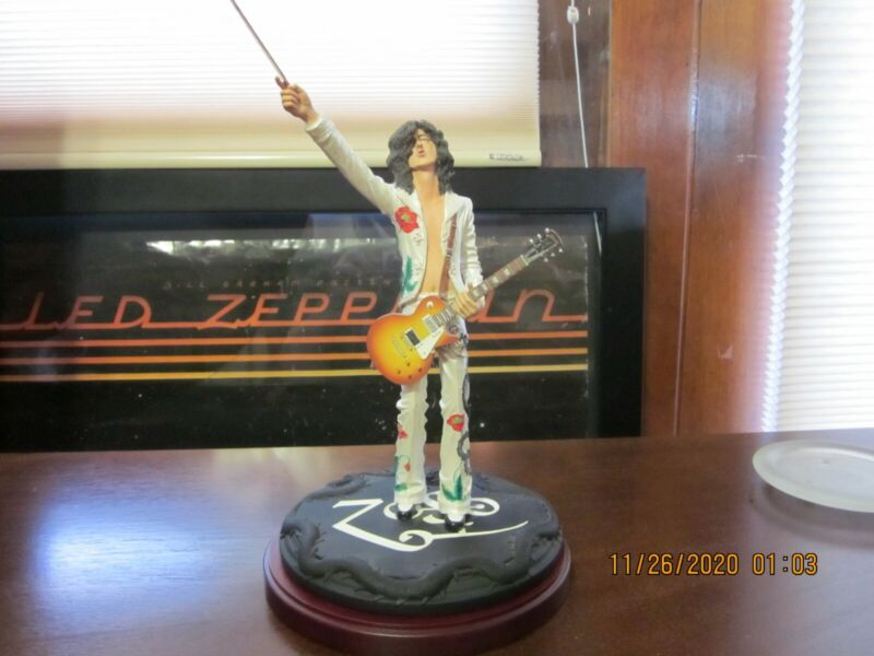 Jimmy Page Knucklebonz Numbered Figurine--No Box