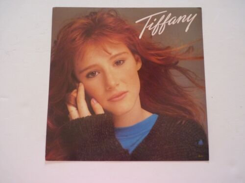Tiffany Cardboard LP Record Photo Flat 12X12 Poster
