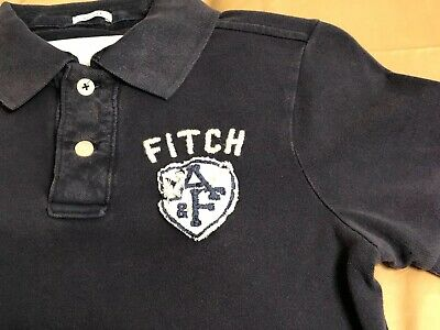Men's Vintage Abercrombie & Fitch A&F Polo Shirt - Medium