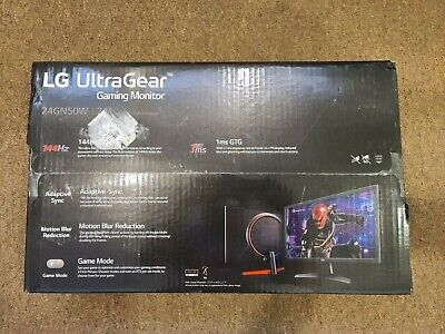 "Brand New 24"" LG 1ms GtG Gaming Monitor 24GN50W 144Hz TN panel"