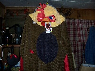 MENS UNION HALLOWEEN CHICKEN SUIT SIZE LARGE 42-44 NOVELTY COSTUME ROOSTER NEW - Halloween Costumes Chicken