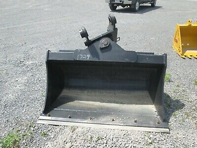 New De 60 Hydraulic Tilt Ditching Bucket Kobelco Sk150 Komatsu Pc150 Pc160