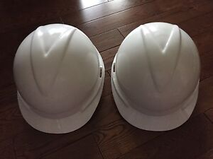 Two Never Used MSA Hard Hats $30 each