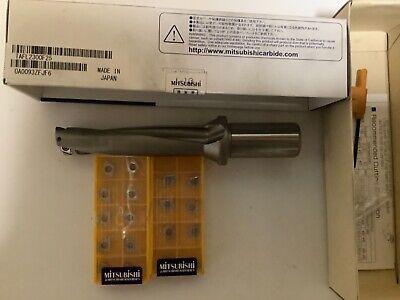 Mitsubishi Tafl 2300f25 23mm Carbide Insert Drill 20 Inserts